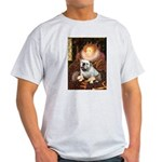 The Queen's English BUlldog Light T-Shirt