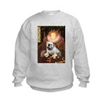 The Queen's English BUlldog Kids Sweatshirt
