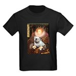 The Queen's English BUlldog Kids Dark T-Shirt