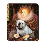 The Queen's English BUlldog Mousepad