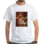 The Path / Two English Bulldogs White T-Shirt