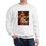 The Path / Two English Bulldogs Sweatshirt