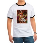 The Path / Two English Bulldogs Ringer T