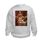 The Path / Two English Bulldogs Kids Sweatshirt
