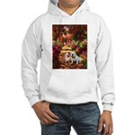 The Path / Two English Bulldogs Hooded Sweatshirt