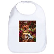 The Path / Two English Bulldogs Bib