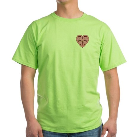 Bijii Heartknot Green T-Shirt