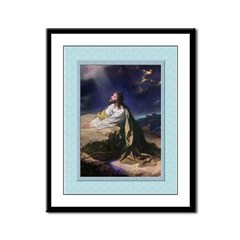 Gethsemane-Unknown-9x12 Framed Print
