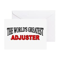 """The World's Greatest Adjuster"" Greeting Card"