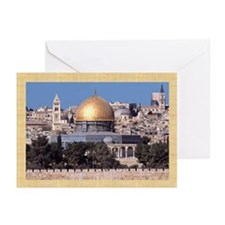 Masjid Al-Aqsa/Arabic Eid Greeting Cards (Pk of 10