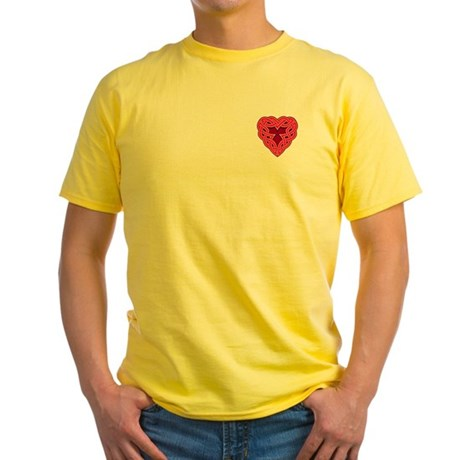 Chante Heartknot Yellow T-Shirt