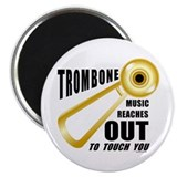 Trombone Touch 2.25&quot; Magnet (10 pack)