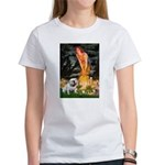 Fairies / English Bulldog Women's T-Shirt
