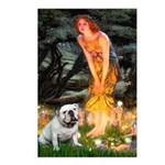 Fairies / English Bulldog Postcards (Package of 8)
