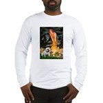 Fairies / English Bulldog Long Sleeve T-Shirt