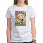 Spring/ English Bulldog (#9) Women's T-Shirt