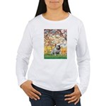 Spring/ English Bulldog (#9) Women's Long Sleeve T