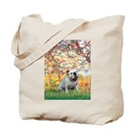 Spring/ English Bulldog (#9) Tote Bag