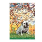 Spring/ English Bulldog (#9) Postcards (Package of
