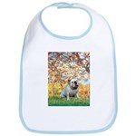 Spring/ English Bulldog (#9) Bib