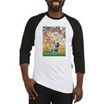 Spring/ English Bulldog (#9) Baseball Jersey