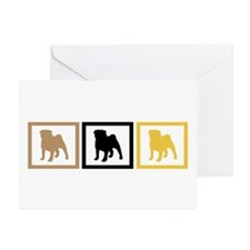 Pug Greeting Cards (Pk of 20)