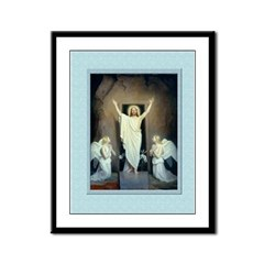 Resurrection-Bloch-9x12 Framed Print