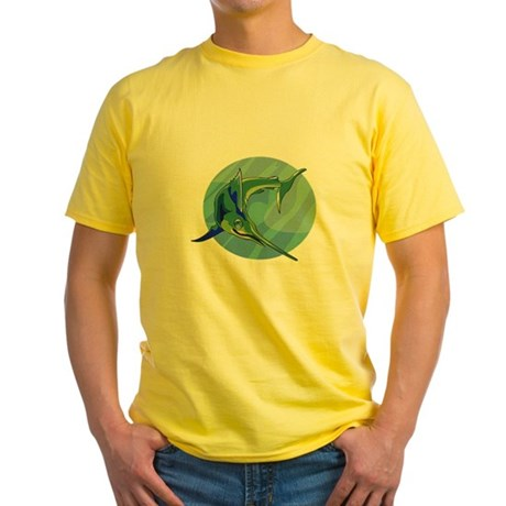 Sailfish Yellow T-Shirt