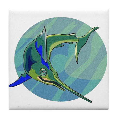 Sailfish Tile Coaster