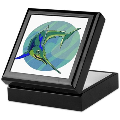 Sailfish Keepsake Box