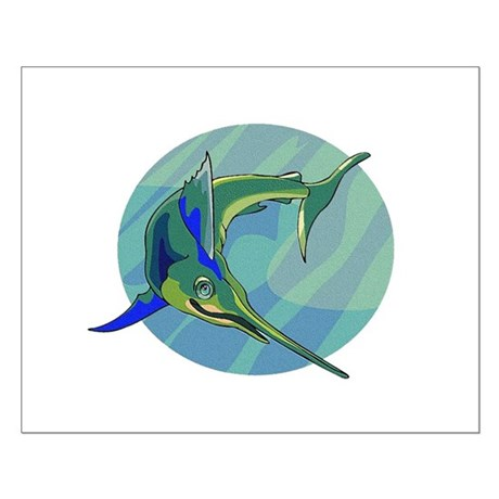 Sailfish Small Poster