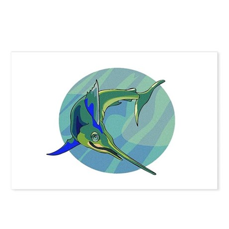 Sailfish Postcards (Package of 8)