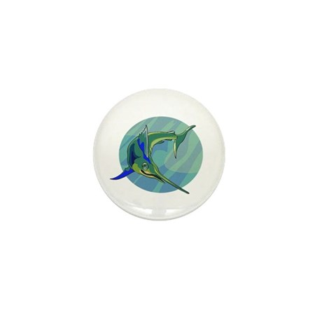 Sailfish Mini Button (100 pack)