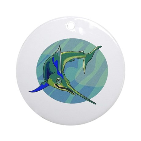 Sailfish Ornament (Round)