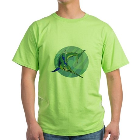 Sailfish Green T-Shirt