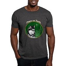 Husky Peace T-Shirt