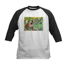 Irises / 2 English Bulldogs Tee