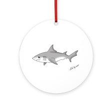 Shark pup Ornament (Round)