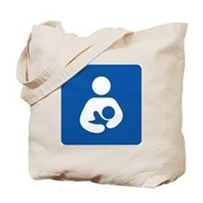Breastfeeding Symbol Tote Bag