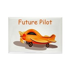 Future Pilot Rectangle Magnet (100 pack)