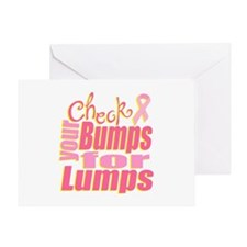 Bump Check Greeting Card