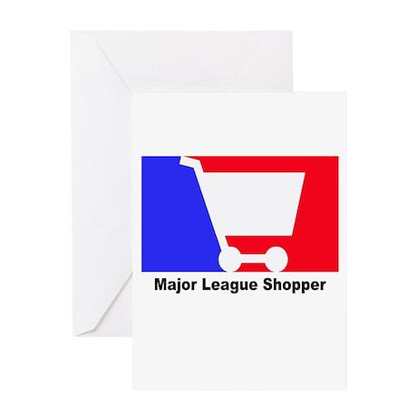 Major Leagu Shopper Greeting Card