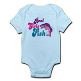 Reel Girls Fish Infant Bodysuit