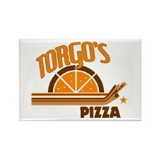 Torgo's Pizza Rectangle Magnet