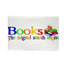Books The Original Search Engine Rectangle Magnet