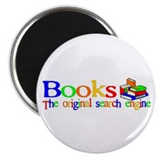 "Books The Original Search Engine 2.25"" Magnet (10"