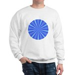Blue Pattern 001 Sweatshirt