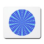 Blue Pattern 001 Mousepad