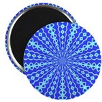 Blue Pattern 001 Magnet