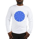 Blue Pattern 001 Long Sleeve T-Shirt